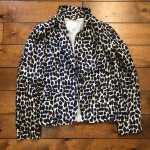 Kate Spade cheetah print blazer
